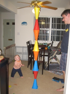 Big towers are so much fun to knock over!